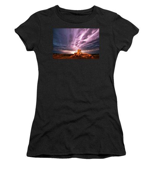 Living Sky In Nebraska Women's T-Shirt