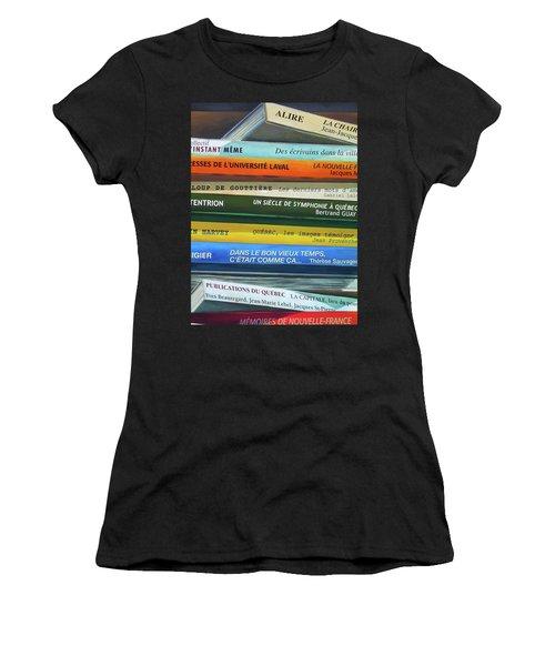 Livres ... Women's T-Shirt