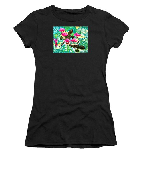 Lizards Women's T-Shirt (Athletic Fit)