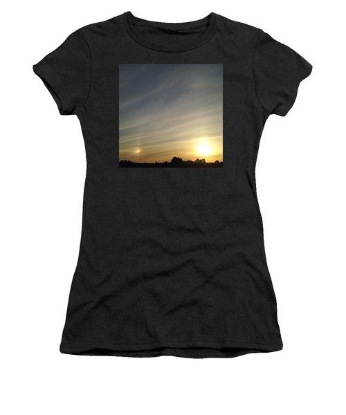 Lobbing Rainbows Into The Sun Women's T-Shirt (Athletic Fit)