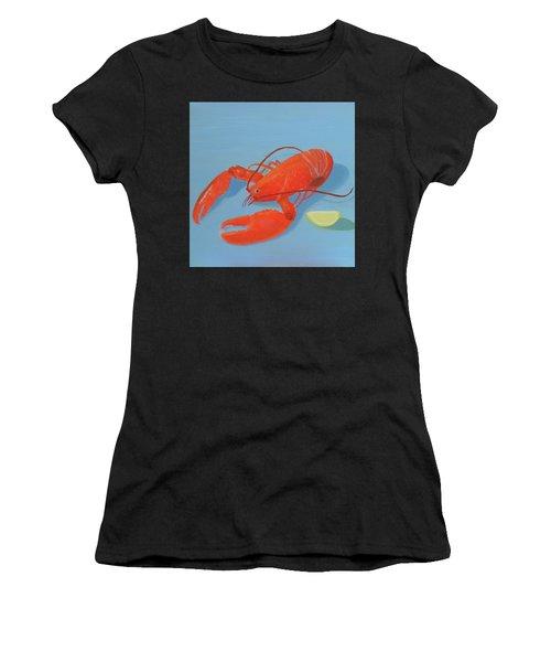 Lobster And Lemon Women's T-Shirt
