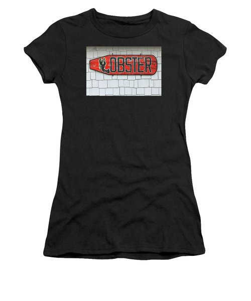 Lobster Paddle Women's T-Shirt (Athletic Fit)