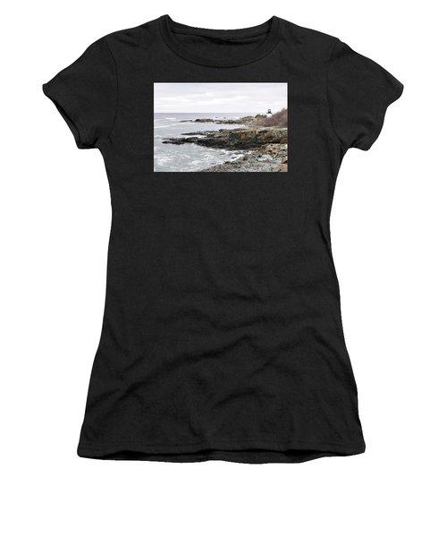 Lobster Point Lighthouse - Ogunquit Maine Women's T-Shirt