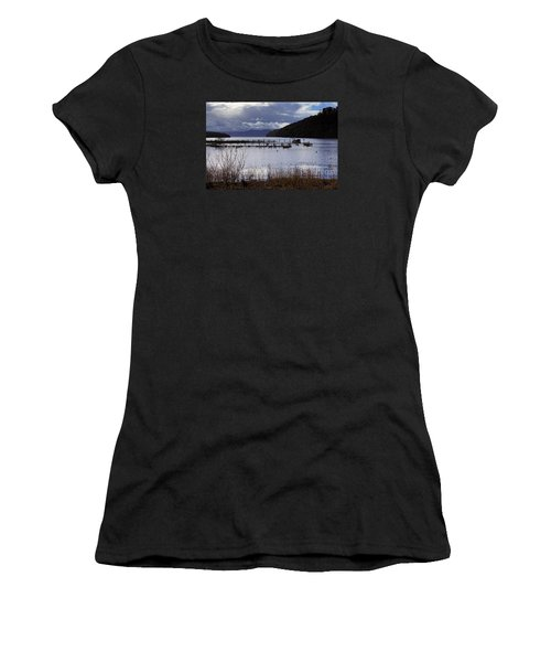 Women's T-Shirt (Junior Cut) featuring the photograph Loch Lomond by Jeremy Lavender Photography