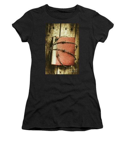Locked Diary Of Secrets Women's T-Shirt