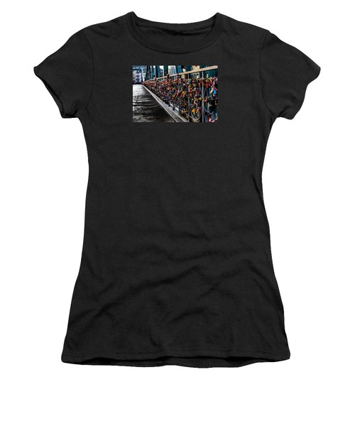 Locks Of Lock Bridge Women's T-Shirt