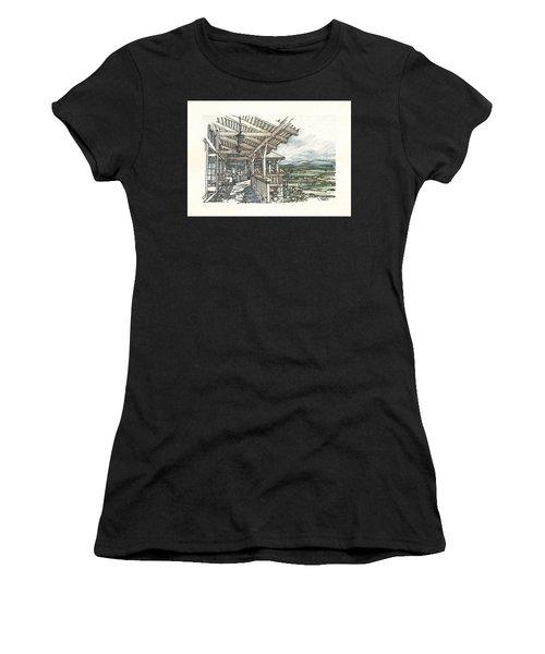 Lodge 2 Women's T-Shirt (Athletic Fit)