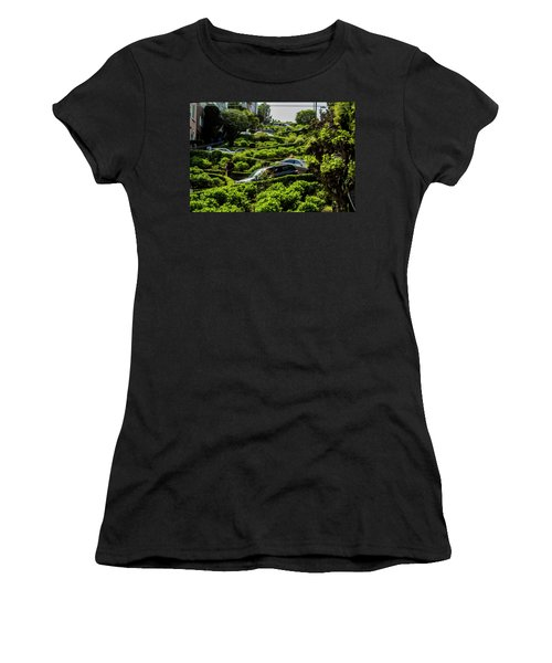 Lombard Street Women's T-Shirt (Athletic Fit)