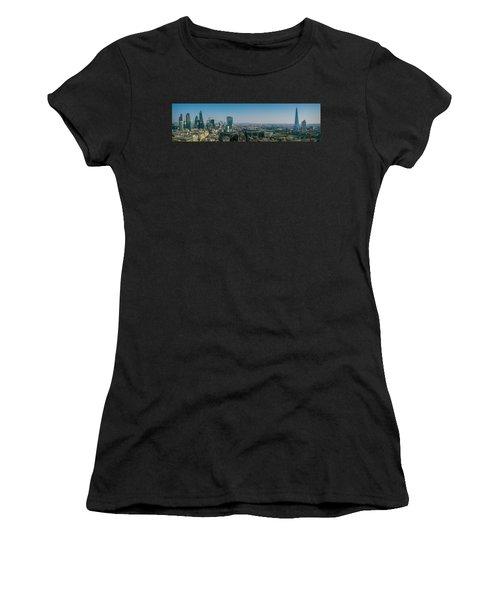 Women's T-Shirt featuring the photograph London Skyline by Stewart Marsden