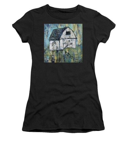 Lone Barn Women's T-Shirt (Athletic Fit)