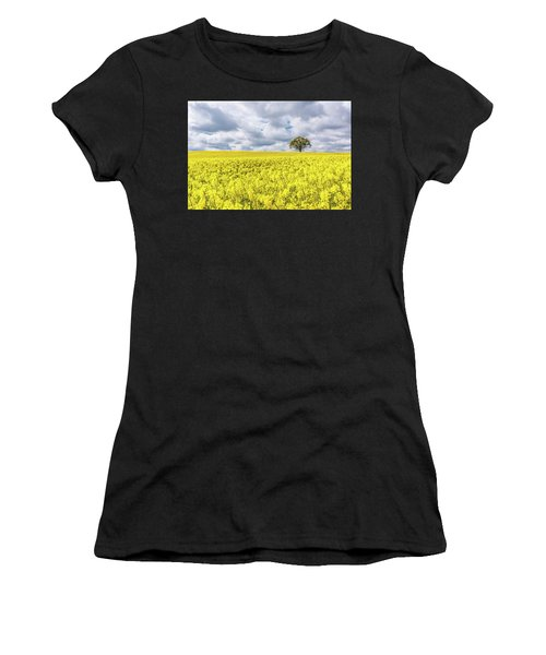 Women's T-Shirt featuring the photograph Lone Beauty by Nick Bywater