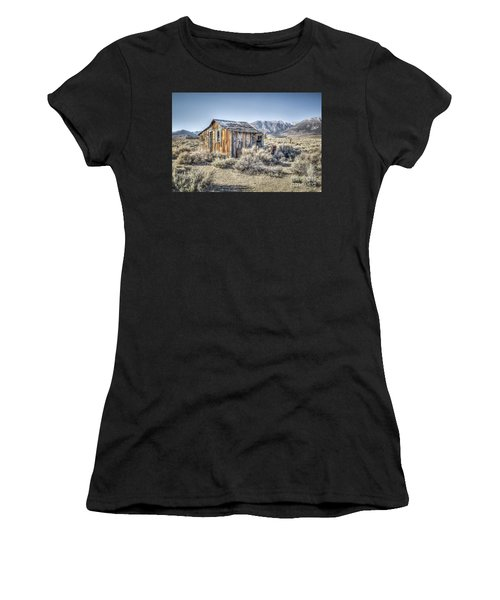 Lone Cabin Women's T-Shirt (Athletic Fit)