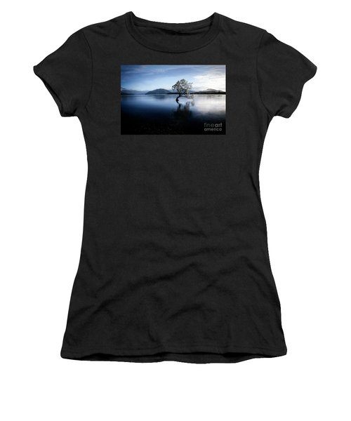Women's T-Shirt featuring the photograph Lone Tree 2 by Scott Kemper