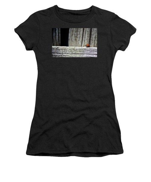 Lonely Ladybug Women's T-Shirt