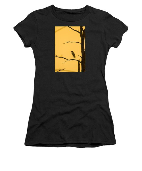 Lonely Silhouette Women's T-Shirt (Athletic Fit)