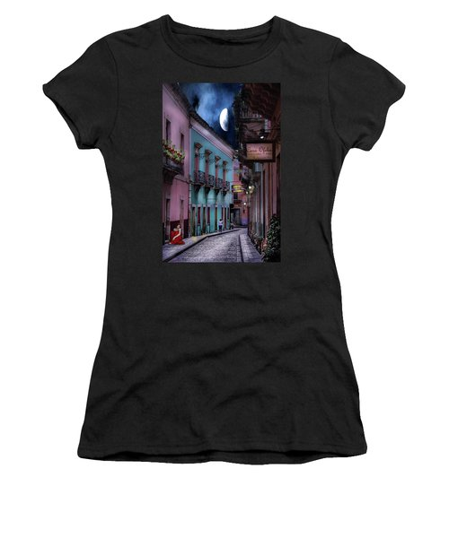 Lonely Street Women's T-Shirt (Athletic Fit)