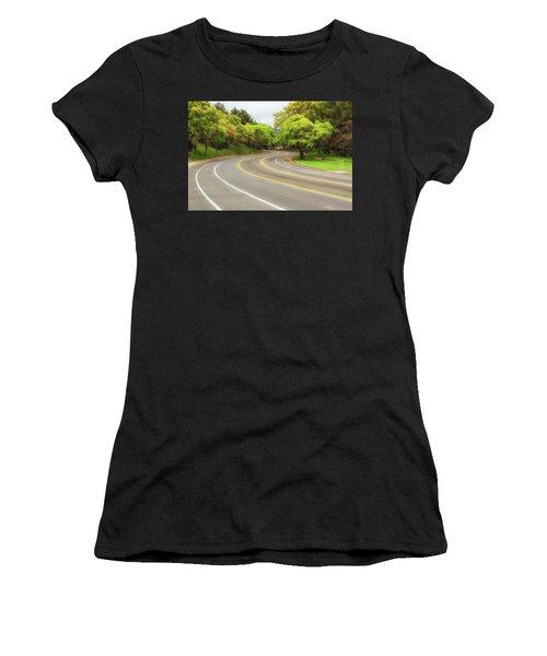 Long And Winding Road Women's T-Shirt