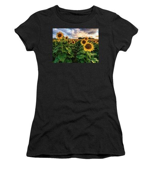 Long Island Sunflowers  Women's T-Shirt