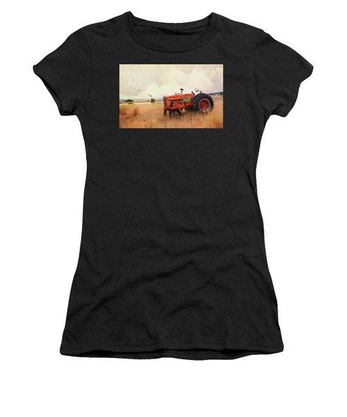 Long Lake Tractor Women's T-Shirt