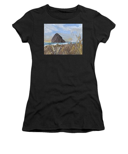 Longing For The Sounds Of Haystack Rock Women's T-Shirt