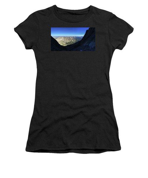 Longs Peak Trough Women's T-Shirt (Athletic Fit)