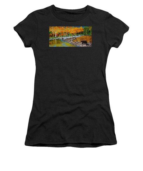 Look Around Joe Women's T-Shirt (Athletic Fit)