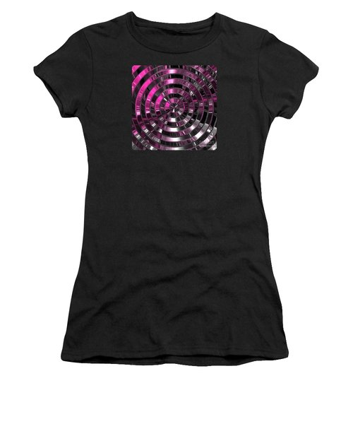 Look To The Center Women's T-Shirt (Athletic Fit)