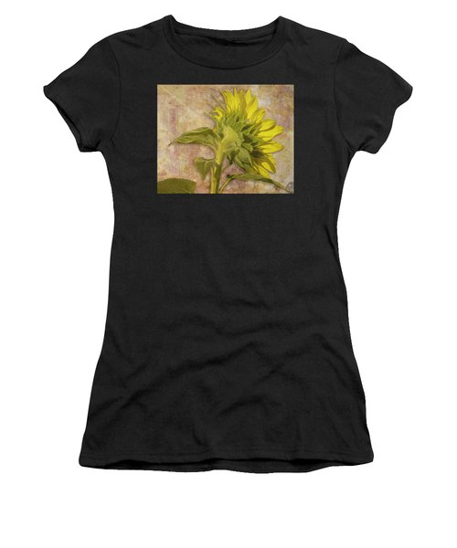 Women's T-Shirt featuring the photograph Looking East by Melinda Ledsome