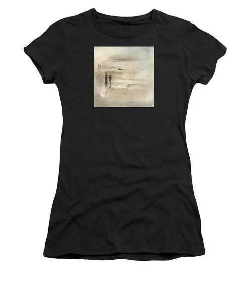 Looking Forward Looking Back Women's T-Shirt (Athletic Fit)