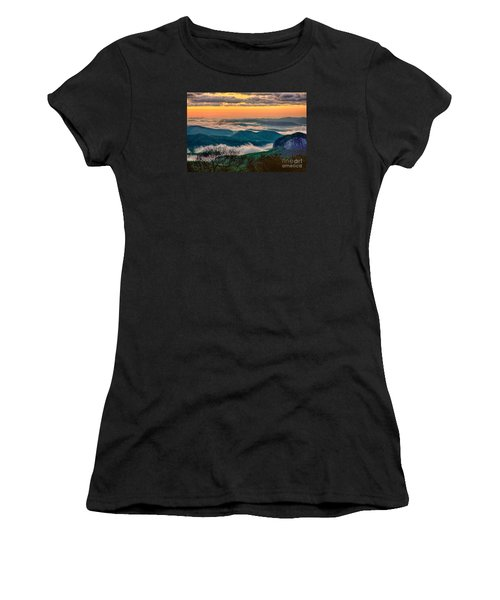Looking Glass In The Blue Ridge At Sunrise Women's T-Shirt