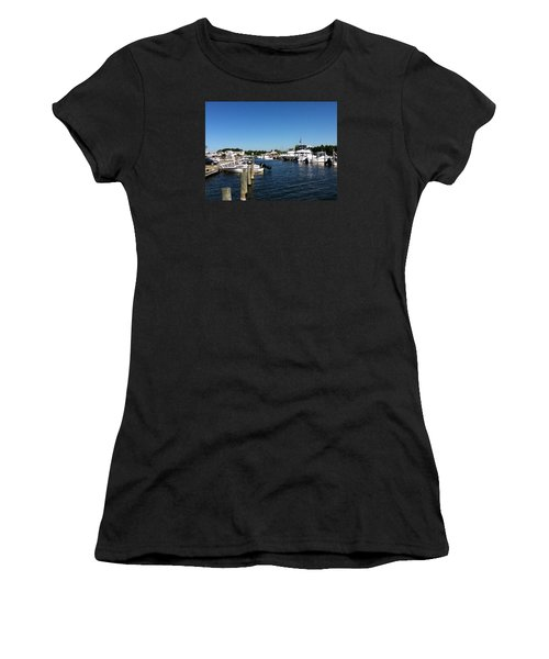 Looking Out Women's T-Shirt (Athletic Fit)