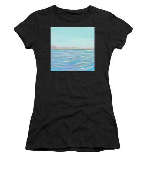 Looking South Tryptic Part 1 Women's T-Shirt (Athletic Fit)
