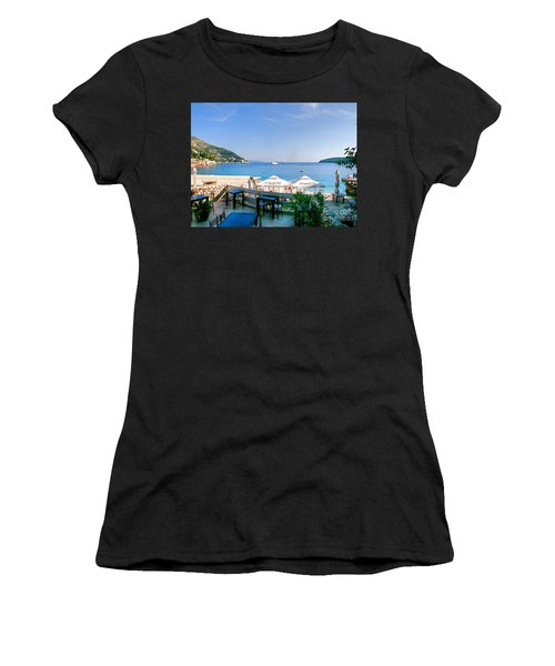 Looking To Dine Out Women's T-Shirt (Athletic Fit)