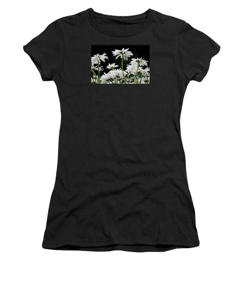 Looking Up At At Daisies Women's T-Shirt (Athletic Fit)