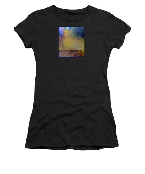 Looks Like Rain Women's T-Shirt (Athletic Fit)
