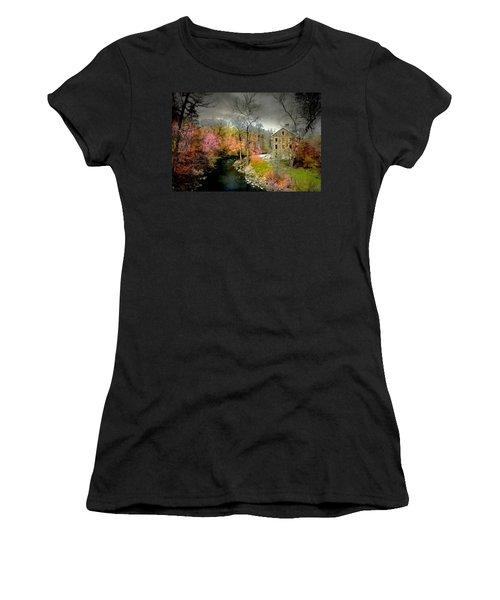 Lorillard Mill Women's T-Shirt (Athletic Fit)