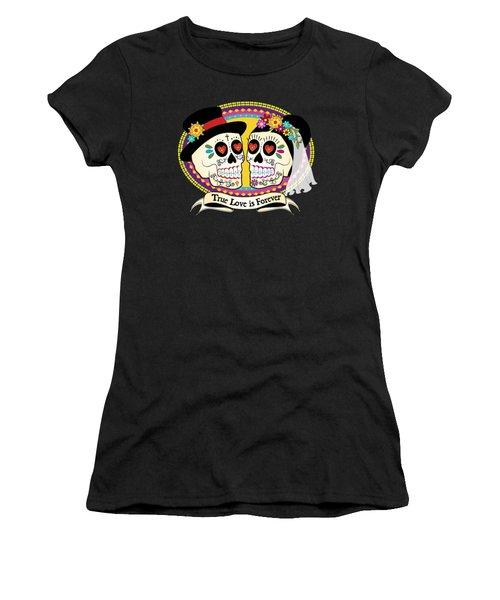 Los Novios Sugar Skulls Women's T-Shirt