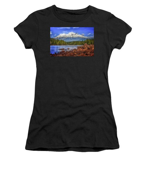 Lost In The Moment Women's T-Shirt (Athletic Fit)