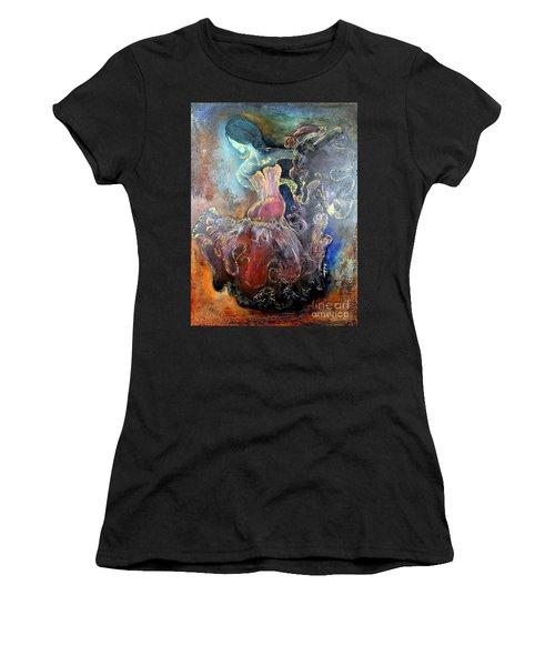 Lost In The Motion Women's T-Shirt (Athletic Fit)