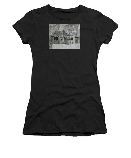 Lost In The Woods  Women's T-Shirt (Athletic Fit)