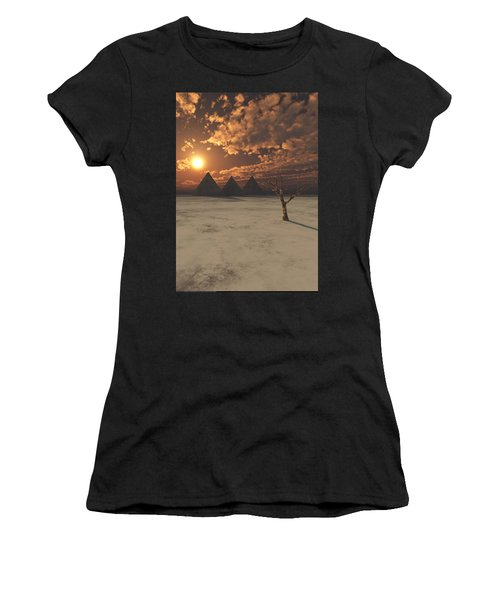 Lost Pyramids Women's T-Shirt (Athletic Fit)