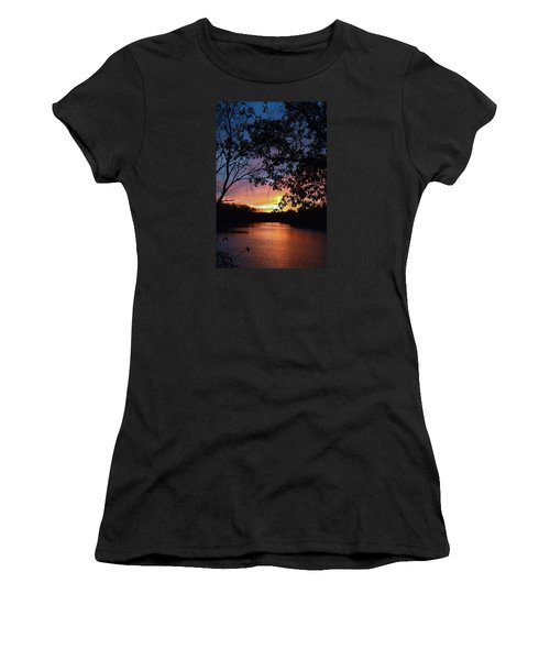 Lost Sunset Women's T-Shirt (Athletic Fit)