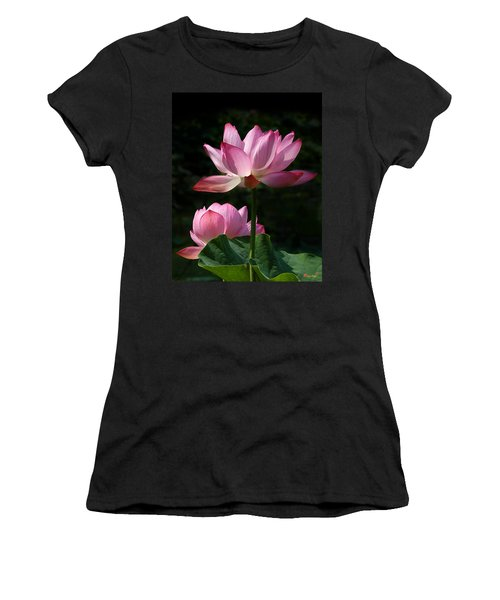 Lotus Beauties--upstaged Dl048 Women's T-Shirt (Athletic Fit)
