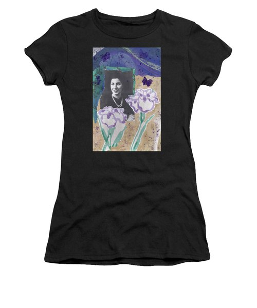 Louise In Boston 1944 In Memory Of My Mother Women's T-Shirt