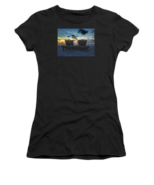 Lounge For Two Women's T-Shirt (Athletic Fit)