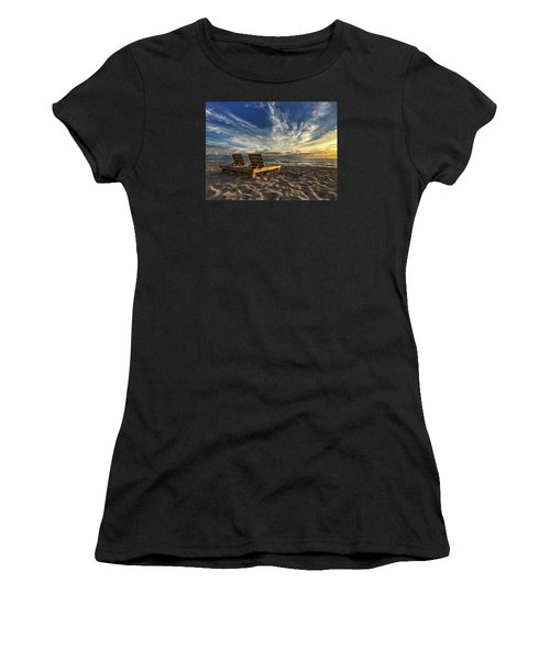 Lounging For 2 Women's T-Shirt (Athletic Fit)