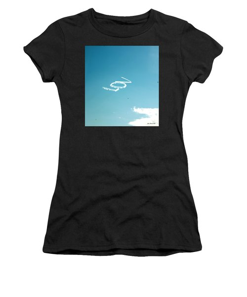 Lov In The Air  Women's T-Shirt (Athletic Fit)
