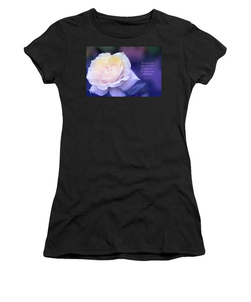 Love And Compassion Women's T-Shirt