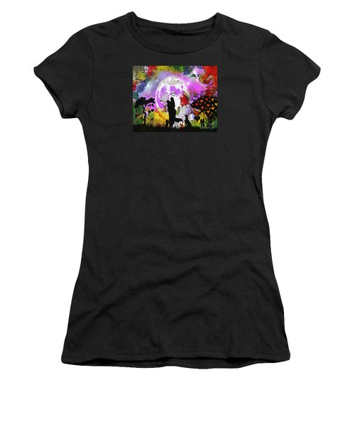 Love Family And Friendship In The Mix Women's T-Shirt