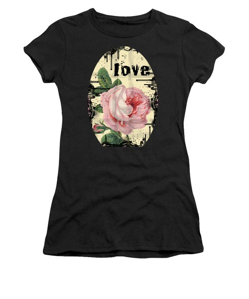 Love Grunge Rose Women's T-Shirt